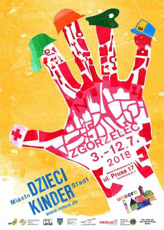 Plakat Kinderstadt 2018